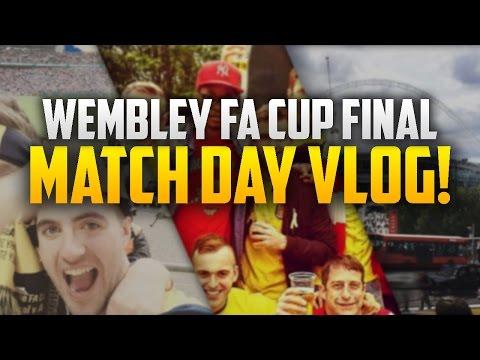 ARSENAL 4 - 0 ASTON VILLA | FA CUP FINAL WEMBLEY MATCHDAY VLOG!