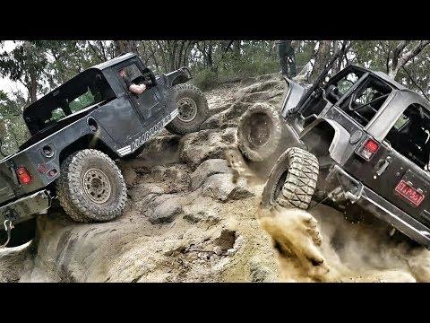 American 4×4 Trucks in Oz – Hummer vs Jeep – Nitto Challenge
