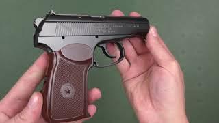 Пневматический пистолет Borner ПМ49 от компании CO2 - магазин оружия без разрешения - видео 2