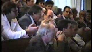 Příběh Liberec (1989): Shromáždění zaměstnanců VŠST dne 24.11.1989