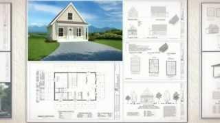 Aspen Cabin Plans: 600 Square-Foot Aspen Cabin Plans, Kindle Edition