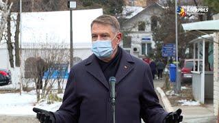 Incendiu la 'Matei Balş'/ Iohannis: Trebuie rapid trase nişte concluzii şi venit cu soluţii