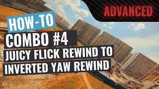 How To Juicy Flick Rewind + Inverted Yaw Rewind | FPV Trick Tutorial