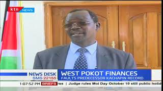 West Pokot governor, John Lonyangapuo suspends a majority of projects in the county