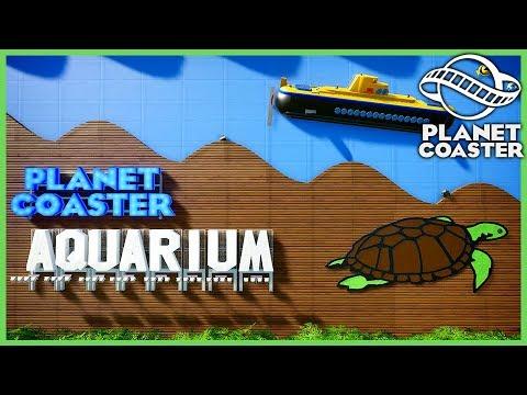 PLANET AQUARIUM! Park Spotlight 180 #PlanetCoaster