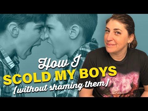 How I Discipline My Boys (Without Shaming Them) || Mayim Bialik ...