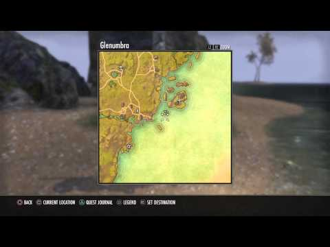 The Elder Scrolls Online Glenumbra V Treasure Map Location ...
