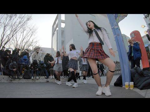 내가 설렐 수 있게 | 에이핑크 - 댄스팀 너의소녀 홍대 버스킹 chulwoo 직캠(Fancam)
