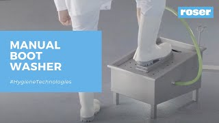 BOOT WASHER, MANUALY OPERATED