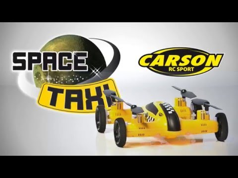 D-Edition TV präsentiert das Space Taxi 2 in 1 von Carson 500507091