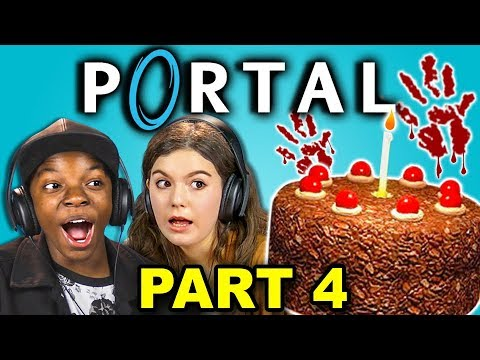 EVIL AI AND KILLER ROBOTS! | PORTAL - Part 4 (React: Let's Plays)