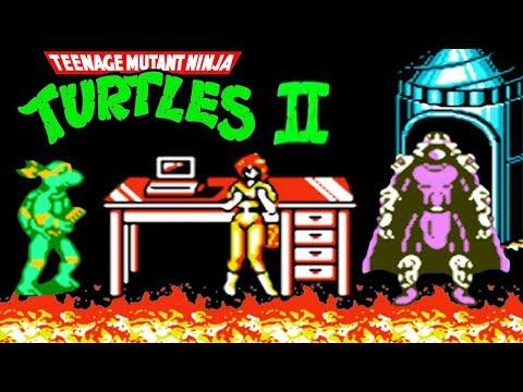 Teenage Mutant Ninja Turtles 2 (Черепашки Ниндзя 2) прохождение (NES, Famicom, Dendy)