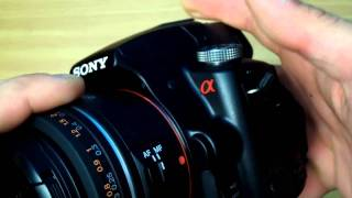 Sony A55 Review Initially