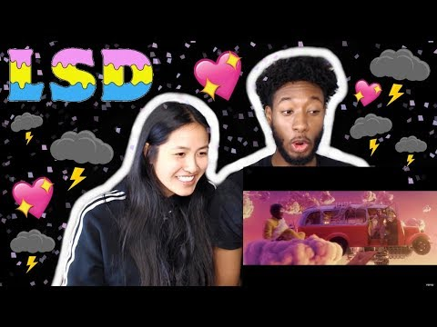 LSD - THUNDERCLOUDS (OFFICIAL VIDEO) FT. SIA, DIPLO, LABRINTH | REACTION Mp3
