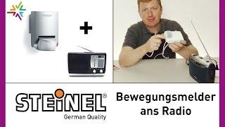 Bewegungsmelder mit Radio, Klingel, Kamera, Steckerleiste etc. verbinden [watt24-Video Nr. 86]