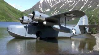 Grumman Goose N703 Crescent Lake Alaska July 9,2011