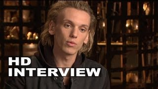 The Mortal Instruments: City Of Bones: Jamie Campbell Bower Jace On Set Interview