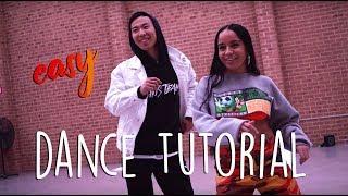 DaniLeigh   Easy (Remix) Ft. Chris Brown Dance Tutorial By Hu Jeffery