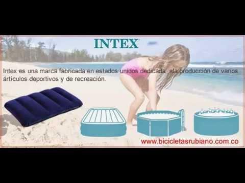 Distribuidor Intex almohadas, colchones, camas, accesorios inflables - Intex   Bicicletas Rubiano