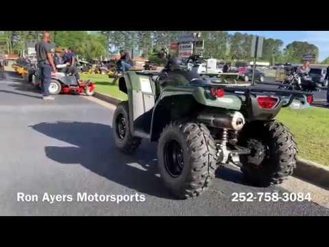 2019 Honda FourTrax Rancher 4x4 DCT EPS in Greenville, North Carolina - Video 1