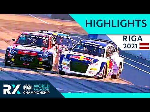 世界ラリークロス 第5戦ラトビア(リガ)2021年 ハイライト動画