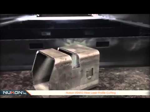 Nukon VENTO Fiber Laser Profile Cutting