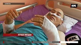 Алматинец упал в шахту лифта, когда спускал тело умершего отца