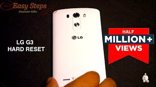 LG G3 Hard Reset | Factory Setting | Original Setting