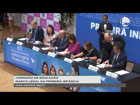 Educação - Monitoramento da implementação do Marco Legal da Primeira Infância - 12/11/19 - 09:49