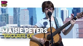 """Maisie Peters Does A Rooftop Performance Of """"Favourite Ex"""""""