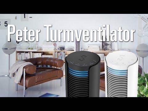 Peter der schwungvolle Turmventilator