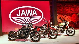 Новые мотоциклы Ява - Jawa Classic и Forty Two