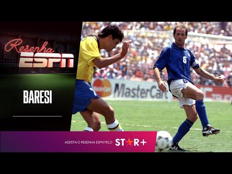 Champions, Copa do Mundo, duelos contra o Brasil e muito mais! Baresi - Resenha ESPN