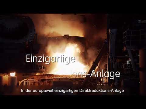 ArcelorMittal Hamburg erprobt Wasserstoff in der Stahlproduktion