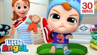It's Time to Get Dressed | Little Angel Kids Songs & Nursery Rhymes