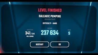 Beat Saber   BALEARIC PUMPING [HARD, S Rank]