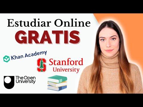 COMO ESTUDIAR GRATIS ONLINE en 2021   Mejores CURSOS ONLINE GRATUITOS con certificado por internet