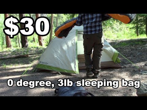 Suisse Sport Sleeping Bag Review – $29.99, 0 degree compression bag – McFly Angler Reviews