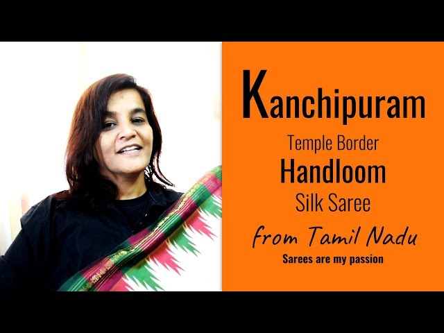 22 Kanchipuram Temple Border Silk Saree - VLOG - Sarees are my passion