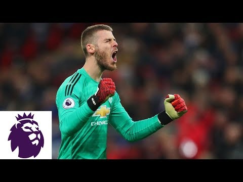 David De Gea's heroic 11 save performance in Man United's win v. TOT | Premier League | NBC Sports