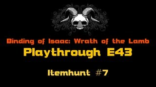 Český Playthrough Binding Of Isaac Wrath Of The Lamb E43: Itemhunt #7