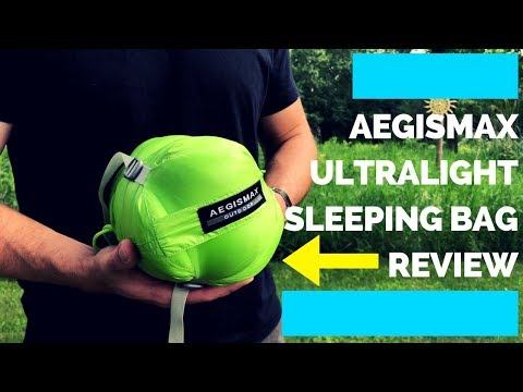 AEGISMAX UL Down Sleeping Bag Review (TESTED)