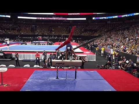 Sam Mikulak - Pommel Horse – 2018 U.S. Gymnastics Championships – Senior Men Day 2