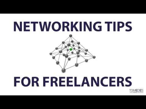 Networking Tips for Freelancers