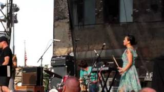 "Xiu Xiu & Deerhoof, ""Day of the Lords"" (Joy Division Cover, Live @ JellyNYC Pool Party)"
