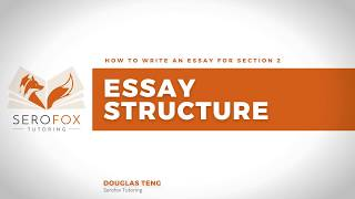 Section 2 Essay and Paragraph Structure | WACE Year 12 English