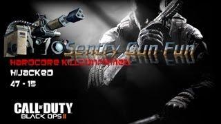 Black Ops 2: Hardcore Kill Confirmed 47-15 Sentry Gun Fun