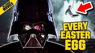 ROGUE ONE: A STAR WARS STORY All Easter Eggs & References