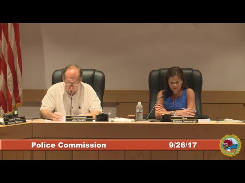 Police Commission 9.26.2017
