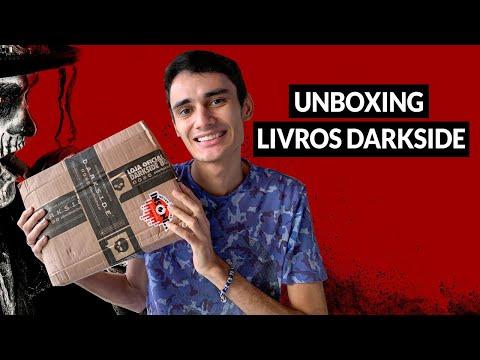 UNBOXING - livros da darkside na promoção